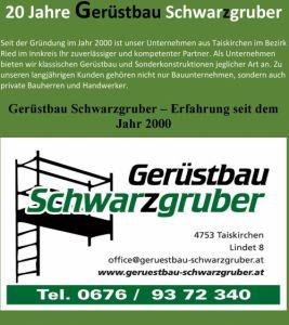 Gerüstbau Schwarzgruber