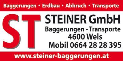 STEINER GmbH Baggerungen - Transporte