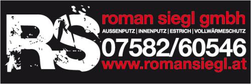 Roman Siegl GmbH - Ihr Spezialist für Fassaden, Innenputz und Estrich